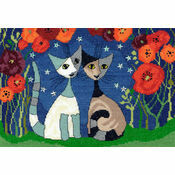 Poppy Nights Cross Stitch Kit