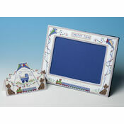 Baby Boy Frame + New Baby Boy Card Cross Stitch Kits