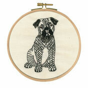 Doug The Pug Embroidery Kit