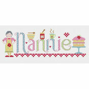 Nannie Cross Stitch Kit