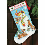 Winter Friends Stocking Cross Stitch Kit