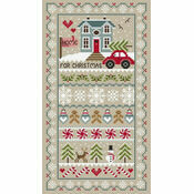 Home For Christmas Cross Stitch Kit