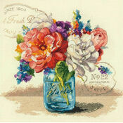 Garden Bouquet Cross Stitch Kit