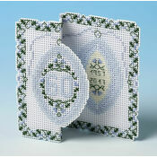 60th Diamond Anniversary 3D Cross Stitch Card Kit