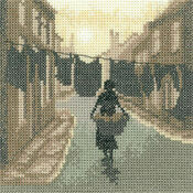 Wash Day Cross Stitch Kit