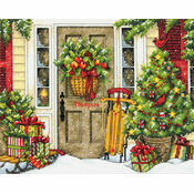 Home For The Holidays Cross Stitch Kit