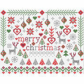 Little Merry Christmas Cross Stitch Kit