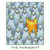 The Antagonist Cross Stitch Kit