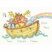 Baby Ark Sampler Cross Stitch Kit