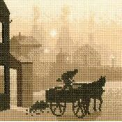 The Coalman Cross Stitch Kit