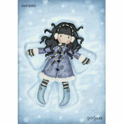 Gorjuss Winter Time Cross Stitch Kit