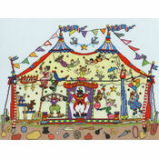 Cut Thru' Big Top Cross Stitch Kit