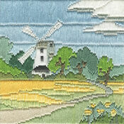 Windmill Long Stitch Kit