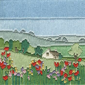Meadow Long Stitch Kit