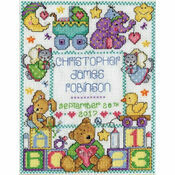 ABC Baby Sampler Cross Stitch Kit