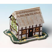 Primrose Cottage 3D Cross Stitch Kit