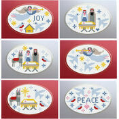 Nativity Cross Stitch Christmas Card Kits (Set of 6)