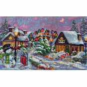 Christmas Night Cross Stitch Kit