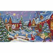 The Christmas Guest Cross Stitch Kit