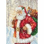 Santa's Sack Cross Stitch Kit