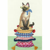 Cat Lady Cross Stitch Kit