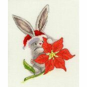 Bebunni - Poinsettia Cross Stitch Kit