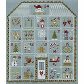Advent House Cross Stitch Kit