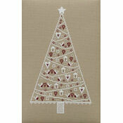 Scandi Christmas Tree Cross Stitch Kit