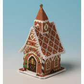 Gingerbread Chapel 3D Cross Stitch Kit