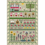 Summer Blooms Cross Stitch Kit