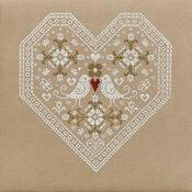 Love Birds Cross Stitch Kit