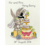 Bebunni - Cutting The Cake Cross Stitch Kit
