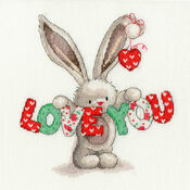 Bebunni - Love You Cross Stitch Kit