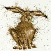 Hare Brained Cross Stitch Kit