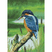 Kingfisher Cross Stitch Kit