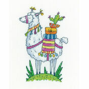 Llama Cross Stitch Kit by Karen Carter