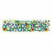 Love Your Garden Cross Stitch Kit