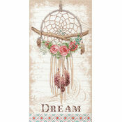 Floral Dreamcatcher Cross Stitch Kit