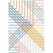 Parallel Lines Geometry Printed Running Stitch Kit