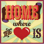 Home Where The Heart Is Tapestry Cushion Panel Kit