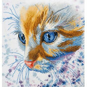 Ginger Cat Cross Stitch Kit