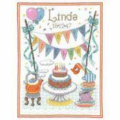 Birthday Tea Cross Stitch Kit