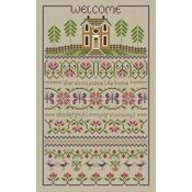 No Place Like Home Cross Stitch Kit