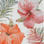 Tropical Blush Cross Stitch Kit