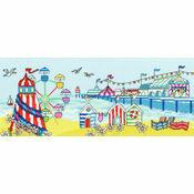 Pier Fun Cross Stitch Kit