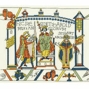 Bayeux Tapestry: The Coronation Cross Stitch Kit