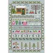 Winter Warmth Cross Stitch Kit