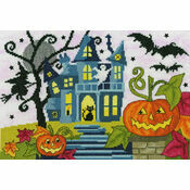 Spooky! Halloween Cross Stitch Kit