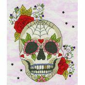 Sugar Skull Cross Stitch Kit