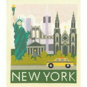New York Cityscapes Cross Stitch Kit